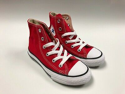 f4ea948daa7c Converse Chuck Taylor All Stars Red High Top Youth Size 12