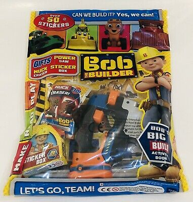 Bob THE BUILDER Magazine #261 With AMAZING FREE GIFTS! (NEW)