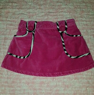 Gymboree 2T Wish You Were Here Floral Skirt Skort NWT NEW Free Shipping Twins