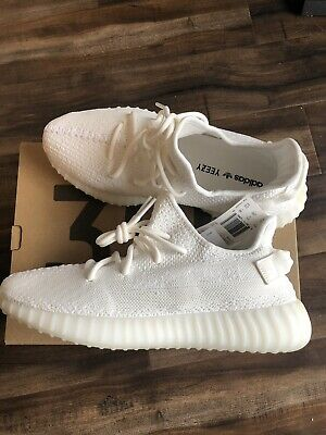 7d62ab14b4a26 YEEZY BOOST 350 v2 cream white size 10 -  344.99
