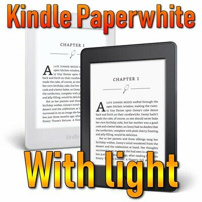 KINDLE PAPERWHITE E-READER - With or Without Offers - 6