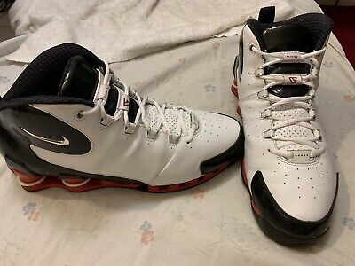 official photos 94db7 cb4be Nike Shox VC III 3 White Vince Carter Model   307111 102 Men s Size 11