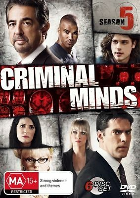 CRIMINAL MINDS :THE COMPLETE Season 5 (DVD 6-Discs) BRAND NEW SEALED FAST POST