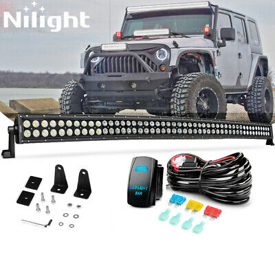NILIGHT HEAVY DUTY Off Road LED Light Bar Wiring Harness Kit ... on light bar bulbs, light bar on 4 wheeler, light bar lights, light bars for trucks, light bar battery, light bar switches, light bar bracket, light bar 24 in, light bar cover, light switch battery wiring, light bar bumper, light bar windshield, light bar headlights, light bar control box, light bar switch harness, light bar wiring labels,
