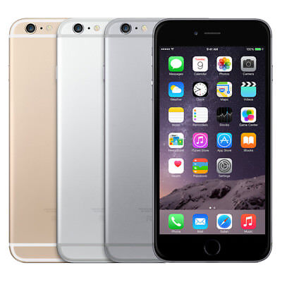 Apple iPhone 6 Plus Factory Unlocked A1524 AT&T T-mobile Verizon 16GB 64GB 128GB