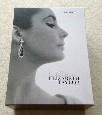 Elizabeth Taylor Christies Auction Catalogue Complete set of 6 New & Sealed