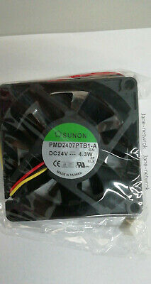 1PCS FOR SUNON PMD2407PTB1-A cooling fan DC24V 4.3W 70x70x25mm 3pin