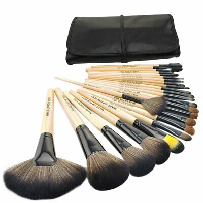 24Pcs Makeup Brushes Kit Face Blush Powder Eye Shadow Cosmetic Brush with Pouch