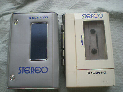 Sanyo Stereo Cassette Player  Model M4430  - Working Condition
