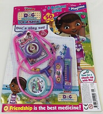 Disney Playtime Magazine #1 Doc McStuffins TOY HOSPITAL with FREE GIFTS! (NEW!)