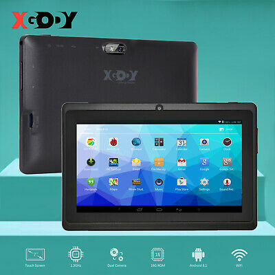 XGODY Android 8.1 Oreo 8GB 7 INCH IPS Tablet PC WIFI HD Quad-core Bluetooth T702