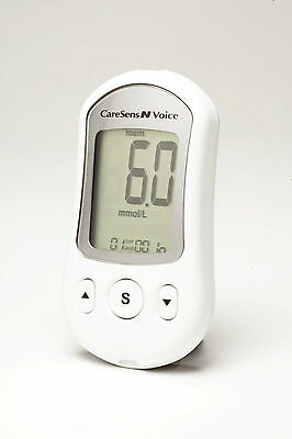 CareSens Voice talking blood glucose meter,blind,visually impaired,partial sight