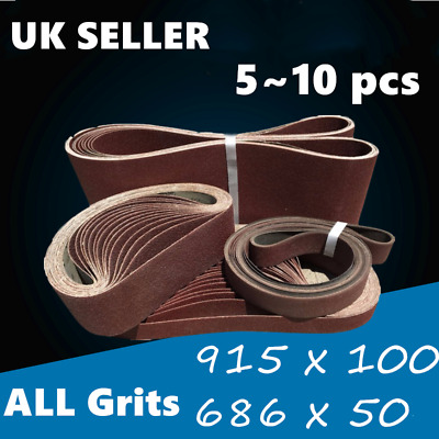 Abrasive Tools 100% Quality New Woodworking 5 Pcs 457x13mm #40 Grit Abrasive Sanding Belt Sander Sandpaper