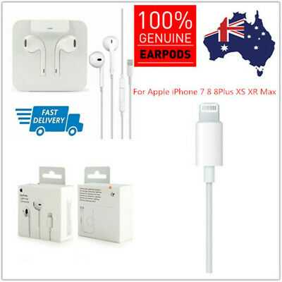 Genuine Original Apple EarPods Headphones Earphones for iPhone 7 X 8 Plus XMAX