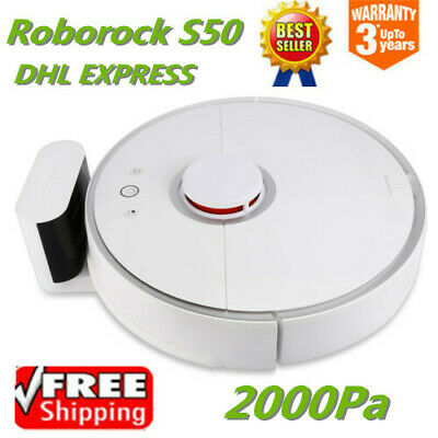Xiaomi Mi Roborock S50 2 In 1 Smart Robotic Vacuum Cleaner 2000Pa 2nd Gen LDS