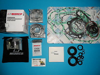 Xt 500  Kit Piston Wiseco + Pochette De Joints+Spy Moteurs+Roulement De Vilo