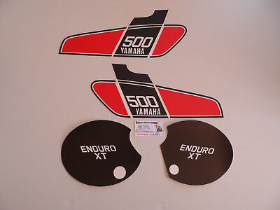 Xt 500 Yamaha 1976 Decal /Kit D'emblemes Compatible