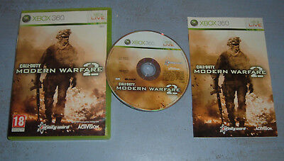 CALL OF DUTY MODERN WARFARE 2 XBOX 360 XBOX ONE (Complet, vendeur pro)