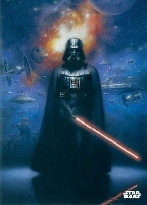 Star Wars Metall-Poster : Epics Power of the Empire  ca. 10 x 14cm