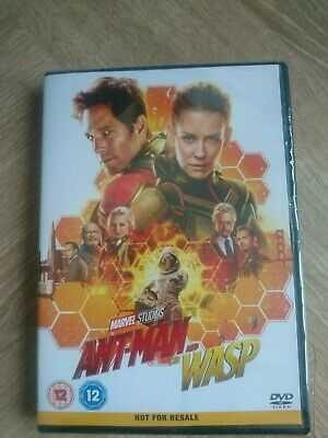 Ant Man And The Wasp     (2018)     -    Brand New & Sealed Dvd  -   Marvel