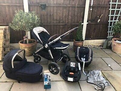 Mamas And Papas Ocarro Full Travel System Pushchair Carry Cot CarSeat Immaculate