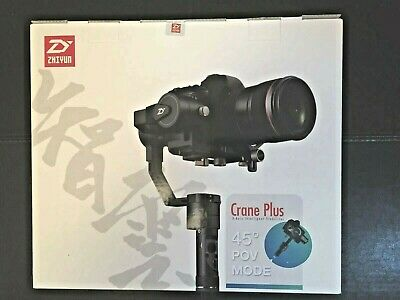 Zhiyun-Tech Crane Plus 3 Axis Gimbal Stabilizer (BRAND NEW)