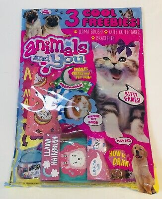 Animals And You Magazine #244 With AMAZING FREE GIFTS INSIDE! (NEW)