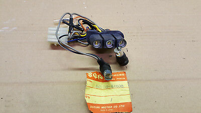 Suzuki Gs400 Clock Speedo Instrument Lights Meter Socket New Nos 34170-44600
