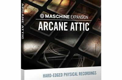 Native Instruments ARCANE ATTIC Expansion for Maschine / Reaktor &Massive!