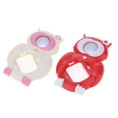 2x Selfie Mirror Close-up Lens for Fuji Fujifilm Instax Mini 8 9, White+Red