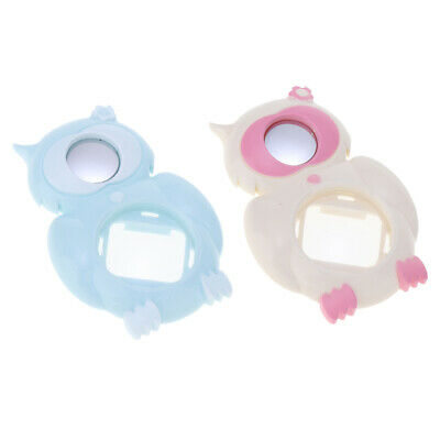 2x Selfie Mirror Close-up Lens for Fuji Fujifilm Instax Mini 8 9, White+Blue