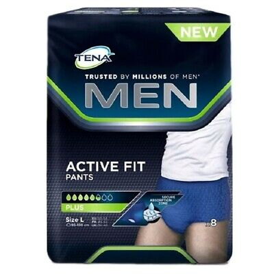 Tena Men active fit pants plus L 8pz