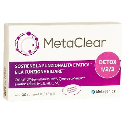 Metagenics MetaClear detox 30cpr