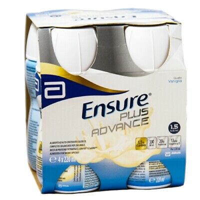 Ensure plus advance 4x220ml vaniglia