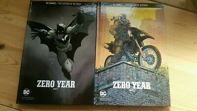 DC COMICS The Legend Of Batman zero year part 1 and 2. Eaglemoss collections