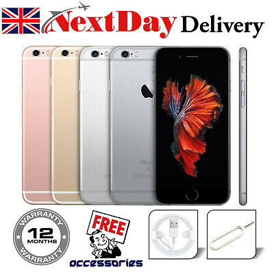 Apple iPhone 6s Plus 16GB 32GB 64GB 128GB Network Unlocked Smartphone IOS GSM UK