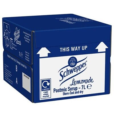 7ltr Schw Lemonade Bag In Box (Post Mix Syrup) - Minimum 4 Weeks Date Guarantee