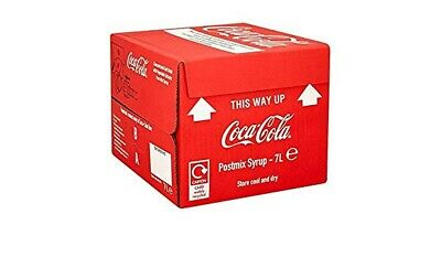 7ltr Coke Bag In Box (Post Mix Syrup) - Minimum 4 weeks date guarantee