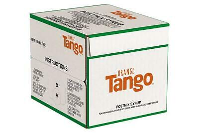 7ltr Orange Tango Bag In Box (Post Mix) - Minimum 2 months date!