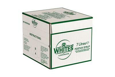 7ltr R Whites Lemonade Bag In Box (Post Mix) - Minimum 2 months date!