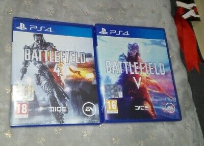 PS4 Battlefield 4 + V 5 PAL ITA italiano PlayStation 4