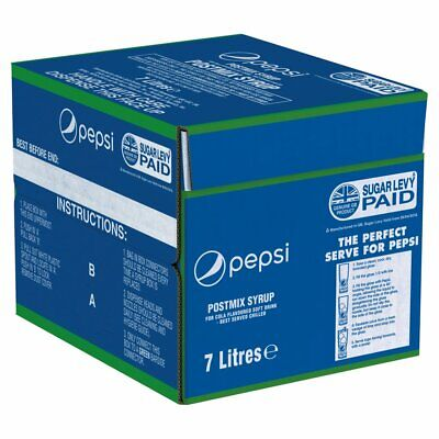 7ltr Pepsi Bag In Box (Post Mix) - FEB/MARCH 2020 Dated