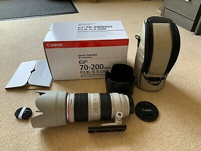 Canon EF 70 mm - 200 mm F/2.8 EF IS II USM for Canon Mint And Boxed.