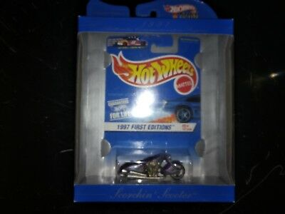Toys & Hobbies Hot Wheels 30 Years Authentic Commemorative Scorchin Scooter Diecast & Toy Vehicles