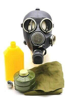 Gas Mask GP-7V Kit Soviet Russian with flask NEW VINTAGE GENUINE all sizes RETRO
