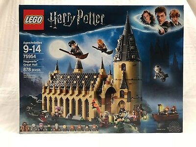 Lego Harry Potter Hogwarts Great Hall Set 75954 New In Hand Wizarding World 2018