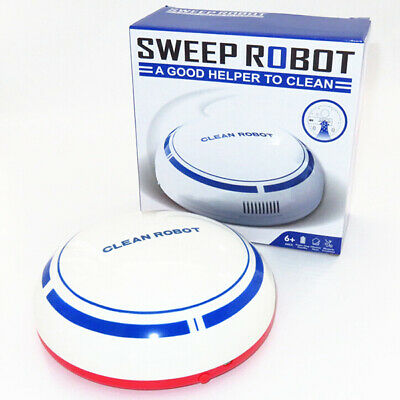 Cartoon Lazy Small Automatic Robotic Vacuum Cleaner Sweeping Robot USB Charging