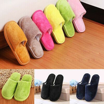 Home Anti-slip Shoes Soft Warm Cotton Sandal House Indoor Slippers 9 colors
