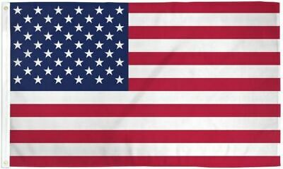 3x5 USA 50 Stars American UltraBreeze 5x3ft Poly Flag Grommets Super Polyester