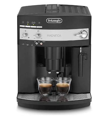 Delonghi ESAM3000.B Magnifica Bean to Cup Coffee Machine, Black